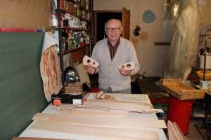 Jean Jacques , 84 ans, le doyen du fablab !